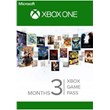 One | Xbox Game Pass 3+1 Months RENEWAL +14day Pass