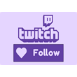 ⭐️⭐️⭐️ Twitch FOLLOWERS  on your chanel ⭐️⭐️⭐️