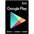 GOOGLE PLAY GIFT CARD $50 USA