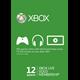 Xbox Live Gold - 12 месяцев (все страны + Россия)- Скан