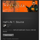 Half-Life 1: Source (ROW) - Steam Gift - Region Free