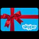 $1  Skype Voucher Original (activation at www.skype.com