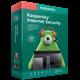 Kaspersky Internet Security 2 17 1 ПК 6 мес Region Free