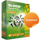 Dr.Web Security Space 2 Года 2 ПК + 2 моб. REG FREE