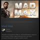 MAD MAX (Steam Gift / Region Free)