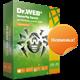 Dr.Web Security Space 2ПК/2 года = 1ПК/4 года +15  дней