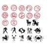 Знаки зодиака в векторе клипарт