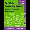 Dr.Web Security Space 1 ПК 1 год REGION FREE