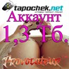 АККАУНТ TAPOCHEK.NET ( ТАПОЧЕК.НЕТ ) 1,3 Тб