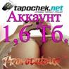 АККАУНТ TAPOCHEK.NET ( ТАПОЧЕК.НЕТ ) 1,6 Тб