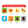 Прописной английский алфавит карточки