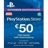 Playstation Network Card (PSN) 50€ (Austrian)
