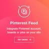 Pinterest Feed - галереи Pinterest на WordPress