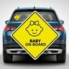 Наклейка «Ребенок в машине» №1