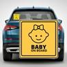 Наклейка «Ребенок в машине» №2