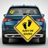Наклейка «Ребенок в машине» №7