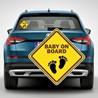 Наклейка «Ребенок в машине» №8