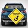 Наклейка «Ребенок в машине» №9