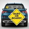 Наклейка «Ребенок в машине» №10