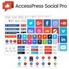 AccessPress Social Pro - социальные закладки для WP
