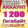 АККАУНТ KINOZAL.TV ( КИНОЗАЛ.ТВ ) 1,2 Тб