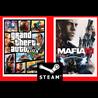 ??GTA 5 + MAFIA 3 - STEAM (Region Free) (ГТА5+ МАФИЯ 3)