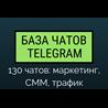 Telegram чаты | Маркетинг, СММ, трафик - 130 чатов