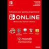 Nintendo Switch Online Подписка 12 МЕС EU/RU + СКИДКИ