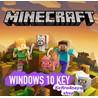 Minecraft Windows 10 Edition - Лицензионный ключ (ROW)