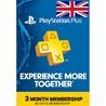 PlayStation Plus PSN - 90 дней (UK Британия)  + ПОДАРОК