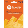 SPOTIFY Gift Card 30$ (USA) ??