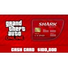 GTA V Online: Red Shark Cash Card PC(Global) 100000$
