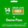 XBOX LIVE GOLD (ONE 360)+GAME PASS ?? 14 ДНЕЙ+1 МЕСЯЦ*