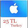 iTunes  25 TL - Турция  ?