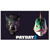 PAYDAY 2 Lycanwulf and The One Below Masks STEAM GLOBAL