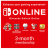 90 Days Nintendo Switch Online Membership (Individual)