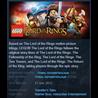LEGO Lord of the Rings Steam Key Region Free