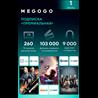 "MEGOGO ""ПРЕМИАЛЬНАЯ"" [RU/НА 1 МЕСЯЦ] - AMEDIA + MTV"