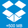 ?? Дополнительные 500 МБ при регистрации в Dropbox