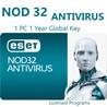 Nod32 Антивирус (ESD) для 1 ПК., 1 год. Многоязычный.