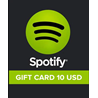 Spotify Gift Card 10 USD ?(USA)
