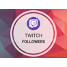Twitch Подписчики - Накрутка фолловеров на канал