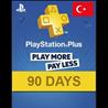PLAYSTATION PLUS (PSN PLUS)   90 DAYS ?(TURKEY)+ПОДАРОК