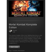 Mortal Kombat Komplete Edition - STEAM Gift / GLOBAL