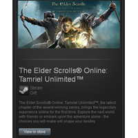 The Elder Scrolls Online - STEAM Gift region RU+CIS+UA