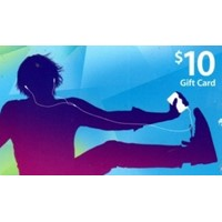 iTunes (US) USD10 Gift Card