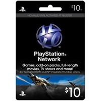 10$ (USA) PLAYSTATION NETWORK (PSN)