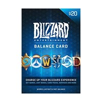 20 USD - Gift Card US Battle.net Prepaid 🔥Balance