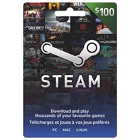 STEAM WALLET GIFT CARD $100 (USD) Key Region Free