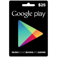 Google Play Gift Card 25$ 25 USD
